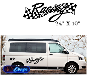 034-RACING-034-Car-Van-caravan-boat-Sticker-decal-X-Large-24-034-x10-034