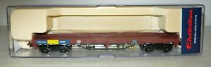 Electrotren-5146K-Niederbordwagen-der-DB-034-MWB-034-Epoche-V-H0-NEU-amp-OVP