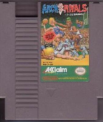 ARCH RIVALS A BASKET BRAWL CLASSIC SYSTEM NINTENDO GAME ORIGINAL NES HQ