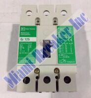 Gi3125 Cutler Hammer Circuit Breaker 3 Pole 125 Amp 480v (new In Box)