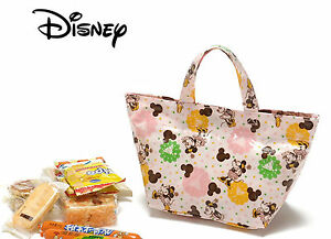 Girl Child Lady Disney Minnie Mouse School Work Lunch Box Tote Organizer Bag