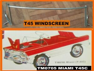 Tri-ang-Vintage-T45-Miami-Pedal-Car-New-Windshield-Windscreen