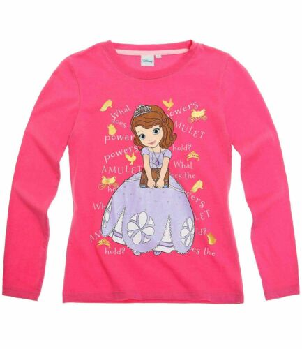 Girls Disney MINNIE MOUSE Princess SOFIA THE FIRST Doc MCSTUFFINS Top T Shirt