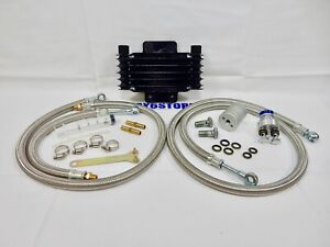GY6 OIL COOLER KIT FOR SCOOTERS WITH 50cc AND 150cc GY6 MOTORS