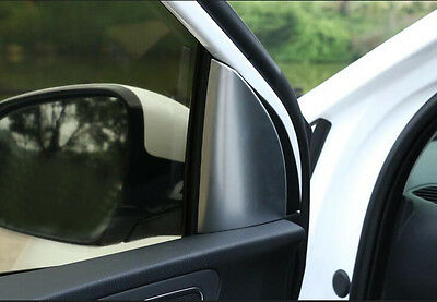 Front Door Corner Matt Chrome Garnish Cover for Kia Sportage QL 15-17 QL