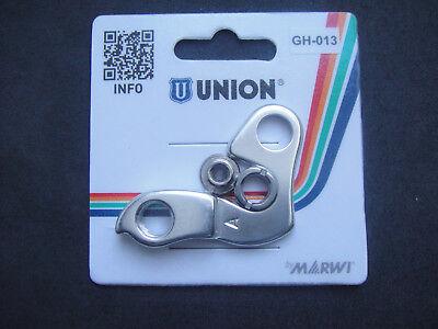 UNION deragliatore bici forcellino cambio gh-242 mondraker dune rr 2011
