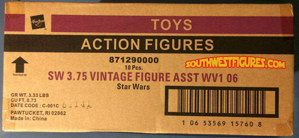 2006 STAR WARS  Galactic Hunt  Action Figures (Factory Sealed Case)