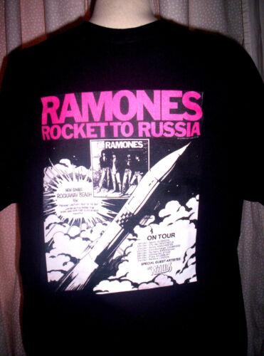 RAMONES T-SHIRT ROCKET TO RUSSIA Punk.