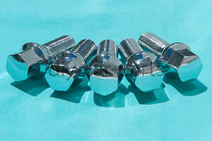 Set-of-20-Chrome-Mercedes-Lug-Bolts-Nuts-E350-E550-SL500-SL550-CLS550-C250-C350