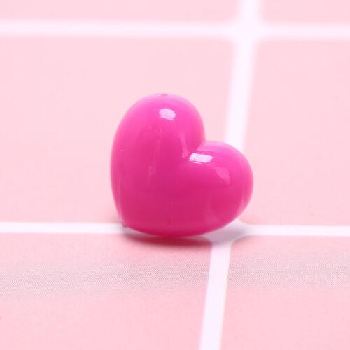 12pcs//box multi-color heart push pins notice board map drawing office thumb  X