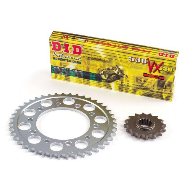 D.I.D X-Ring Gold Chain/Sprocket Kit Triumph 2012 Street Triple R 675 (3605266)