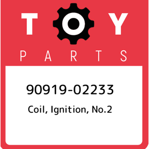 90919-02233 Toyota Coil no.2 9091902233 New Genuine OEM Part ignition