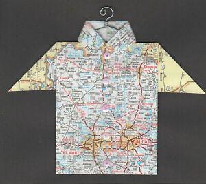Origami-Map-Shirt-Texas-Dallas-Fort-Worth-Sherman-Gainesville-Waxahachie