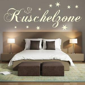 Wandtattoo Schlafzimmer Wand-Tattoo Kuschelzone Sterne Kinderzimmer ...
