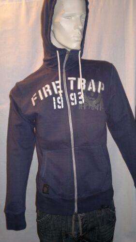 In Through £65 Indigo Hoody Firetrap was Zip taq1CwA