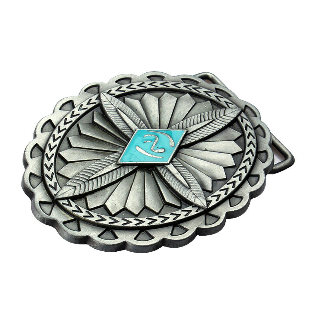1 pc. Classic cowboy style unisex belt buckle gift jewelry
