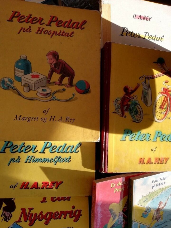 De bedste historier om peter pedal, Margaret og H.A. Rey