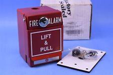 Ge Edwards Fire Alarm Box Pull Station Mpsr2 S45w Ge