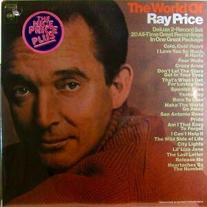 Ray Price The World Of Ray Price Columbia 1970 2x