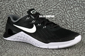 Nike-WMNS-Metcon-3-849807-001-Workout-Gym-Training-Crossfit-Shoes-Black-White