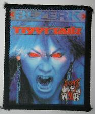 TIGERTAILZ  Bezerk Original Vintage 80`s/90`s Printed Sew On Patch not shirt lp