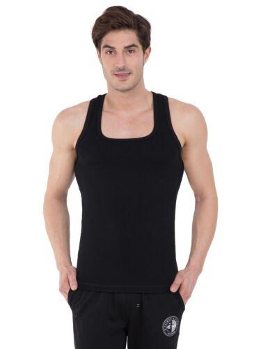 gym yoga Jockey noir gilet décontractées pour Nightwear-LIVRAISON GRATUITE