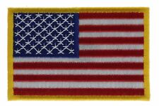 04cdf45f6df0 item 7 US American Flag Red White Blue Yellow 3 inch Cap Hat Embroidered  Patch F2D10S -US American Flag Red White Blue Yellow 3 inch Cap Hat  Embroidered ...