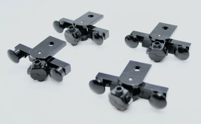 LEGO Eisenbahn 1x 9V Magnet Puffer schwarz
