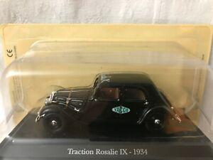 Citroen Traction Rosalie IX 1934 Universal Hobbies Presse 1//43