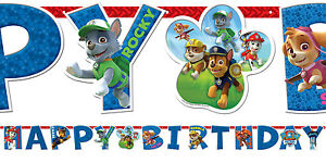 PAW-PATROL-PARTY-SUPPLIES-GIANT-BANNER-CUSTOMIZE-ANY-AGE-3-2mtrs-10-039-5-034-LONG