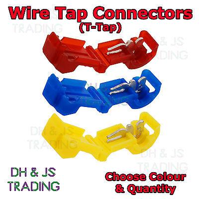 Wire Tap Connectors T Tap Connector Wire Splice Terminal Terminals Scotchlock