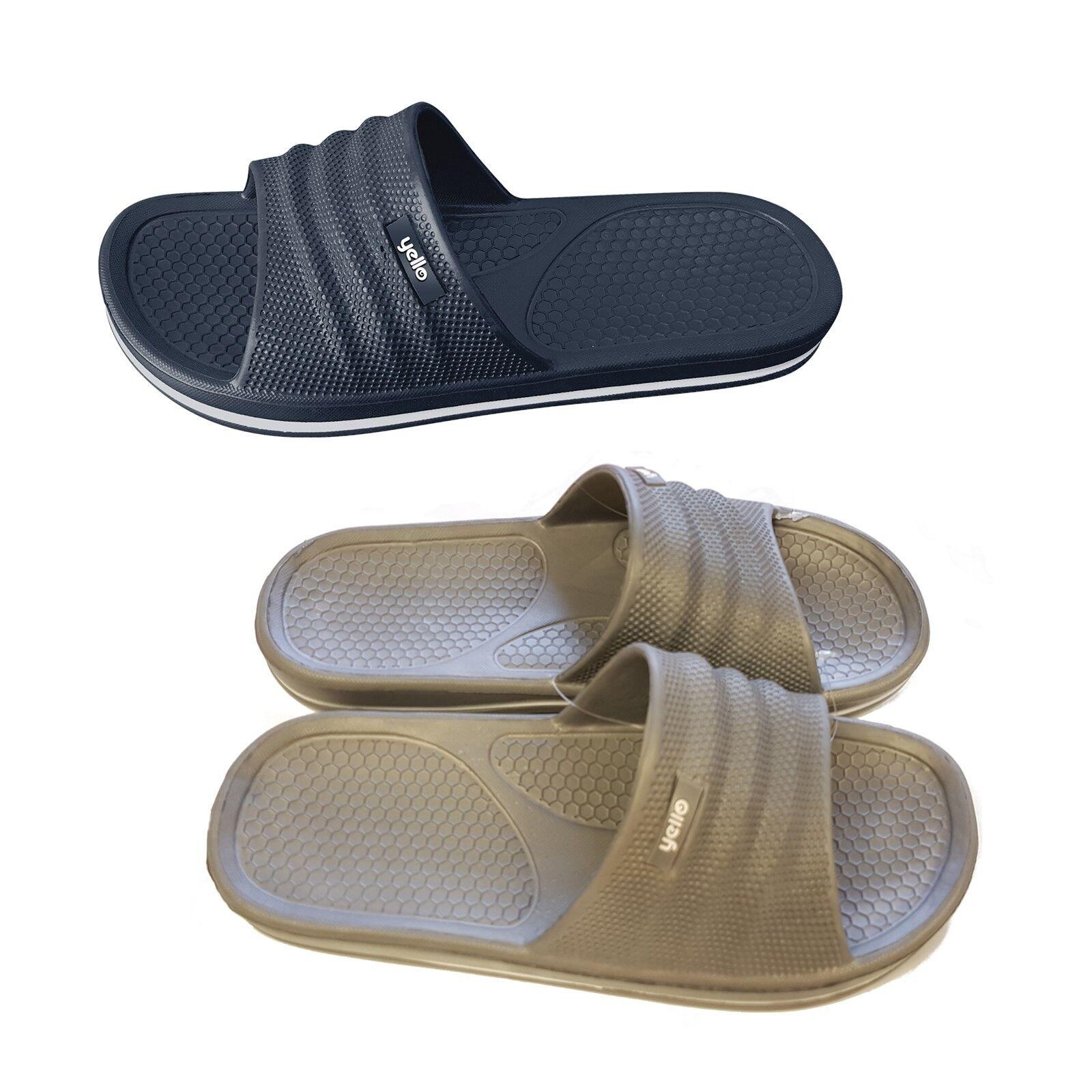Hombre Pool Zapatos Chanclas Sandalias GB 10 Tamaño 7 8 9 10 GB 5bd38b