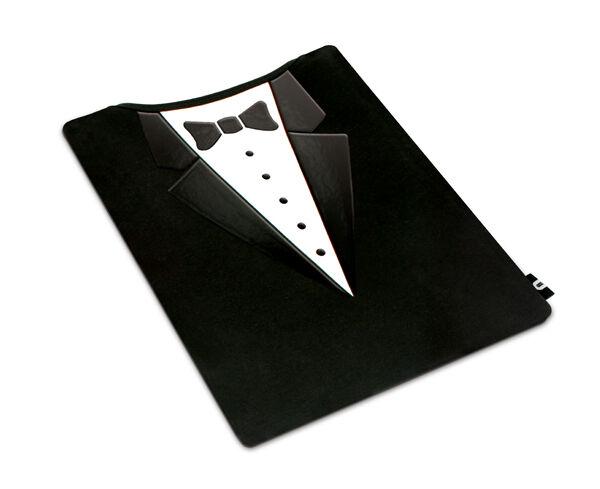 """Tablet Tux"" Tuxedo Suit Tablet Cover Case, Suit Kindle, iPad, Galaxy. GIFT"