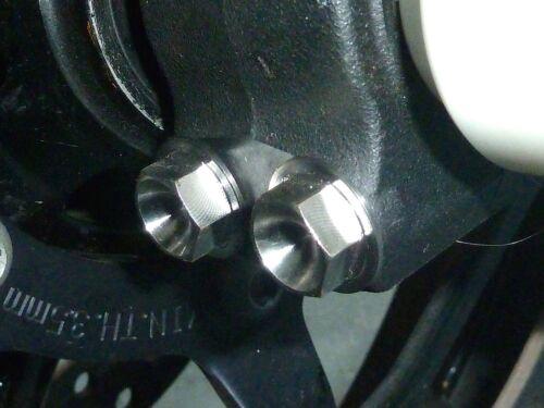 Honda CBR600RR 2005-2006 FRONT FORK PINCH BOLTS TITANIUM HEX
