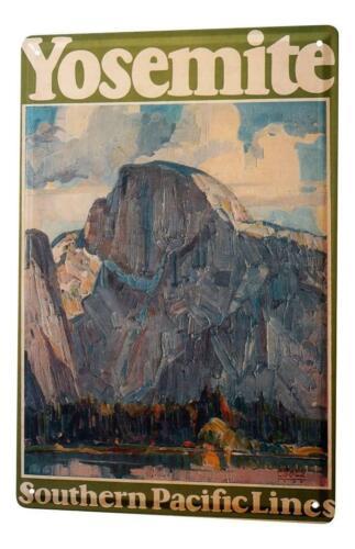 Plaque ?maill?e Tour Du Monde  Ligne montagnes de Yosemite Sud Pacifique Publici