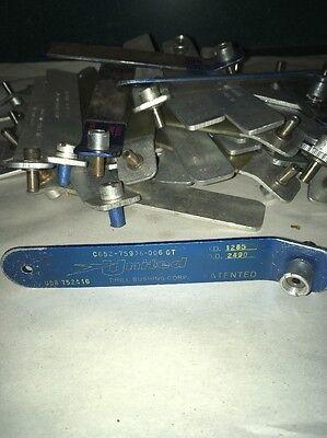 Qty 1 United Drill Bushing  ID .2500  OD .3115  Handle Bushing Aircraft Bit