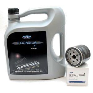 Ford-Formula-F-5W-30-Motoroel-14E9EC-5-Liter-Original-Ford-Olfilter-1883037