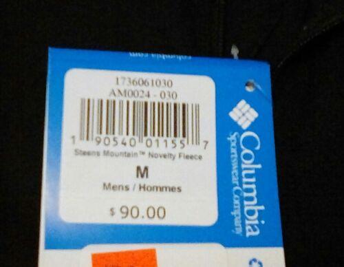 NEW Columbia Men/'s Steens Mountain Novelty Fleece Jacket Size Medium $90