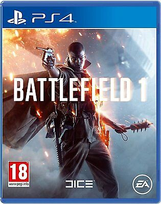 BATTLEFIELD 1 PS4 GAME (BRAND NEW SEALED)