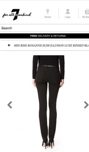 Out £190 Jeans Skinny 7 New Waist Without Tag rrp Sold Mankind 26 f81YAw