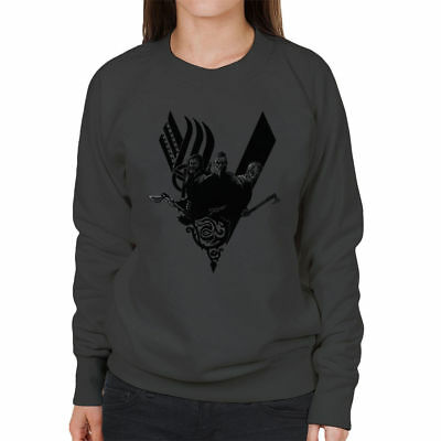 Vikings Ragnar Lothbrok I am War Women/'s Hooded Sweatshirt