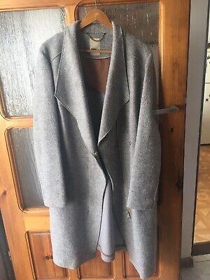Mildred uld jakke 7210 grå mel Samsøe