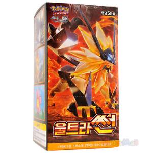 Carte-JCC-Pokemon-Soleil-Lune-ULTRA-PRISME-SM5S-Ultra-Soleil-30-Boosters-CCoreen