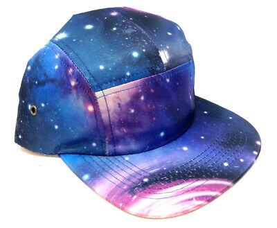TIE DYE GALAXY ALL OVER PRINT SNAPBACK HAT CAP ADJUSTABLE SPACE UNIVERSE RETRO