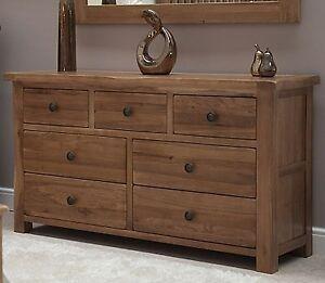 Image Is Loading Brooklyn Solid Oak Bedroom Furniture Large Wide Multi