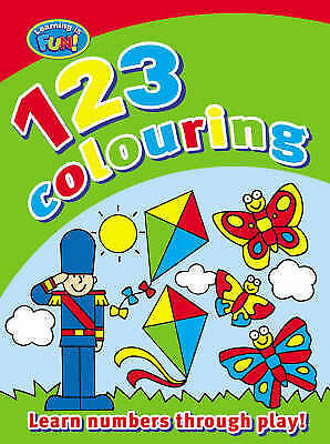 My First 123 Colouring Book (Learning is Fun), , Very Good Book