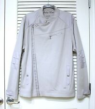 calvin Kein gray biker jacket XL