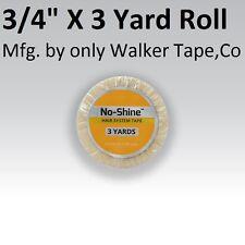 No Shine Lace Support Tape 3/4 in X 3 yard Full Head Bond Walker Tape New Label