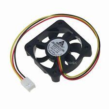 10pcs 12V 3pin 5cm 50mm 50x50x10mm 5010S Quiet Brushless PC Computer Cooling Fan