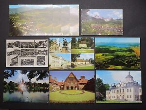 11-Postcards-Ak-from-Germany-Dr-One-Used-Lot-I-5000